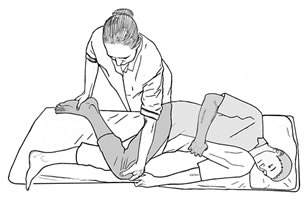 разгибать ноги